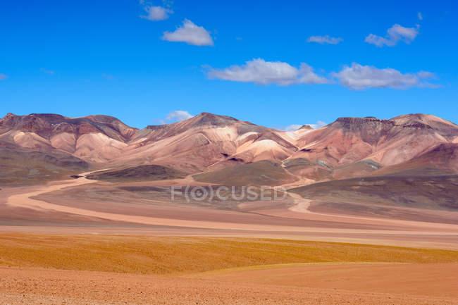 Bolívia, Departamento de Potosi, Sur Lopez, Montana Colorada — Fotografia de Stock