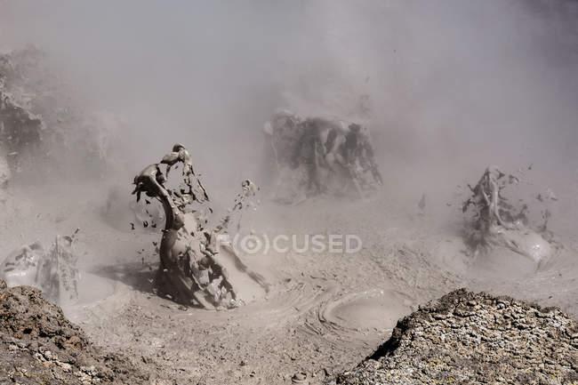 Bolivia, Departamento de Potosi, Sur Lopez, mud volcano — Foto stock