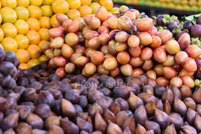 Indonésia, Sumatera Utara, Kabubaten Karo, Mercado de Legumes — Fotografia de Stock