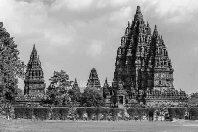 Indonesien, Java Tengah, Kabudaten Klaten, Prambanan, der einzige Hindu-Tempel auf Java — Stockfoto