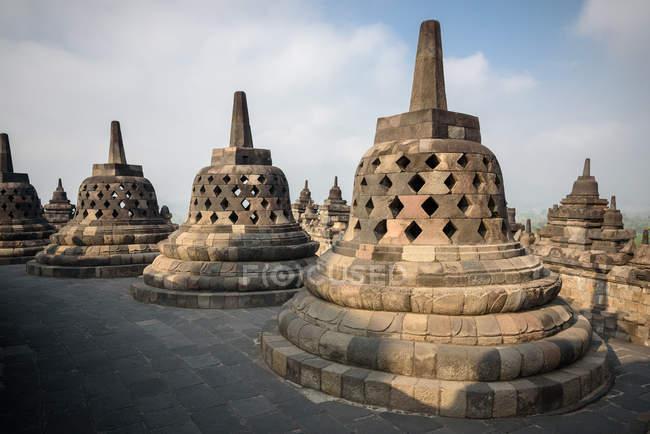 Indonésie, Java Tengah, Magelang, temple bouddhiste Borobodur d'Asie du Sud-Est et patrimoine culturel mondial de l'UNESCO — Photo de stock