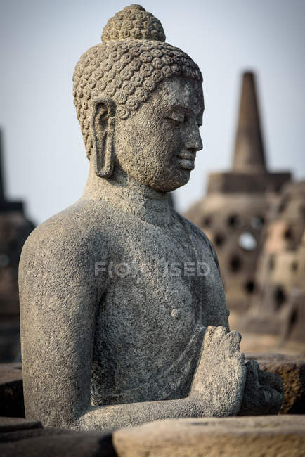 Indonesia, Java Tengah, Magelang, Borobodur, Buddhist temples of Southeast Asia and UNESCO World Cultural Heritage — Stock Photo