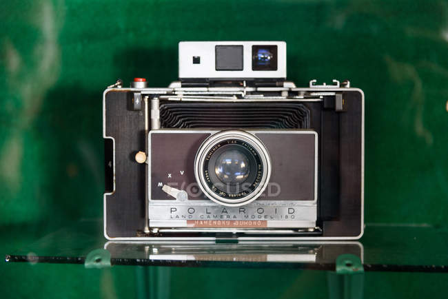 Vintage camera from collection of sultan in museum Yogyakarta, Java, Indonesia, Asia — Stock Photo