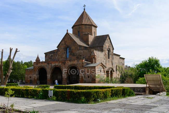 Armenia, provincia de Armavir, Vagharshapat, Echmiadzin es el centro espiritual de Armenia - foto de stock