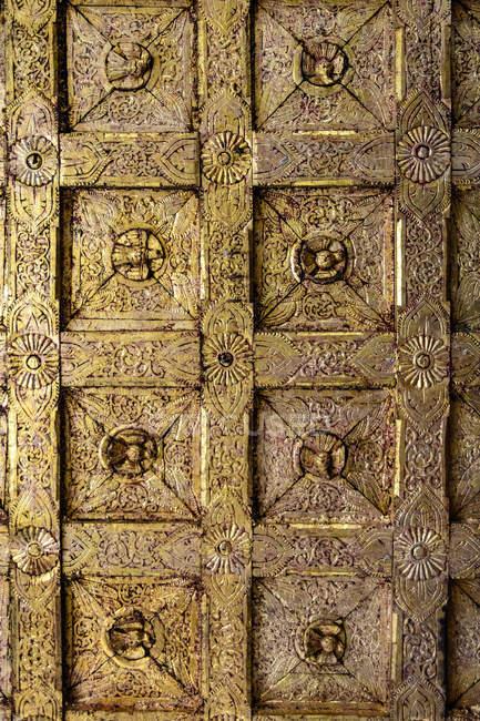 Myanmar (Birmania), Mandalay región, Mandalay, Shwe nan daw kyaung monasterio - foto de stock