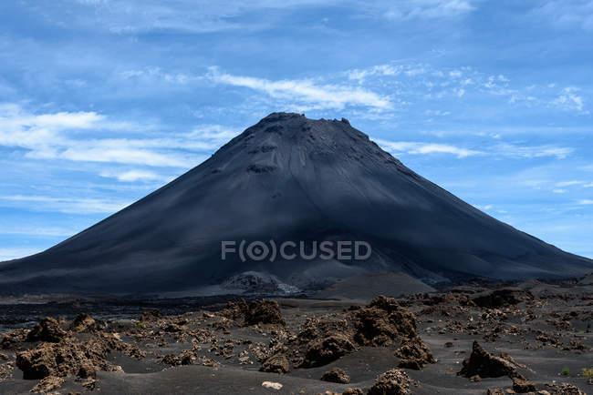 Cape Verde, Fogo, Santa Catarina, volcano Fogo view — Fotografia de Stock