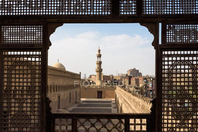 Єгипет, Каїр, Каїр, вид з тераси на даху Гаєр Андерсон музею — стокове фото