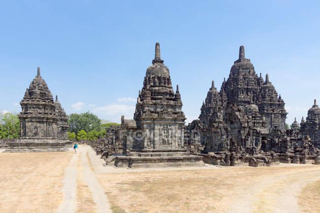 Indonésie, Java Tengah, Klaten, Temple bouddhiste Sewu — Photo de stock
