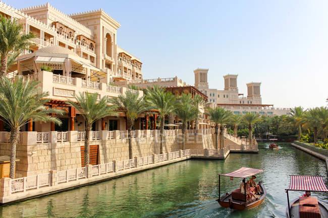 Объединенные Арабские Эмираты, Дубай, Мадинат Джумейра, отель — стоковое фото