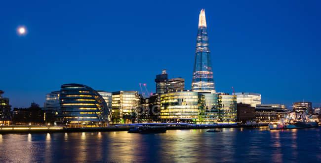 Сполучені Штати Америки, Англія, Лондон, переглянути черепок в Лондоні — стокове фото