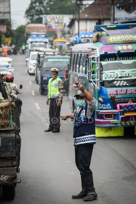 Indonesia, Sumatera Utara, Kabul Langkat, street scenes — Stock Photo