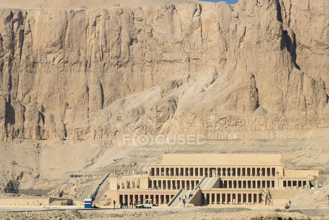 Egypt, New Valley Gouvernement, Hatshepsut Temple — Stock Photo