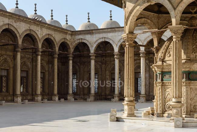 Egitto, Governatorato del Cairo, il Cairo, la cittadella con la Moschea dell'alabastro — Foto stock