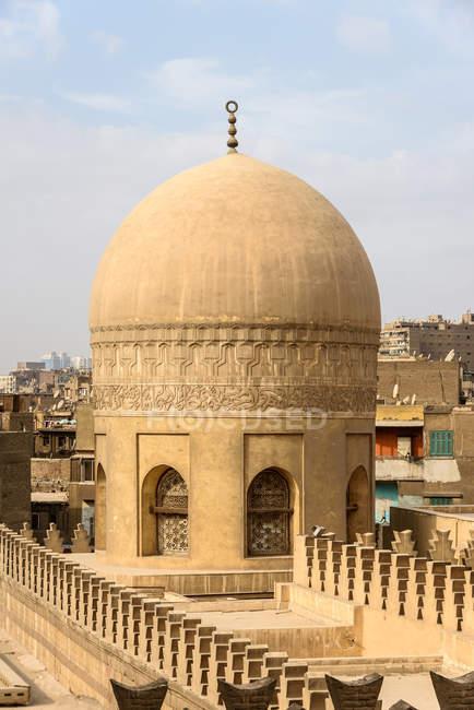 Egitto, Governatorato del Cairo, il Cairo, Vista Moschea di Ibn Tulun — Foto stock