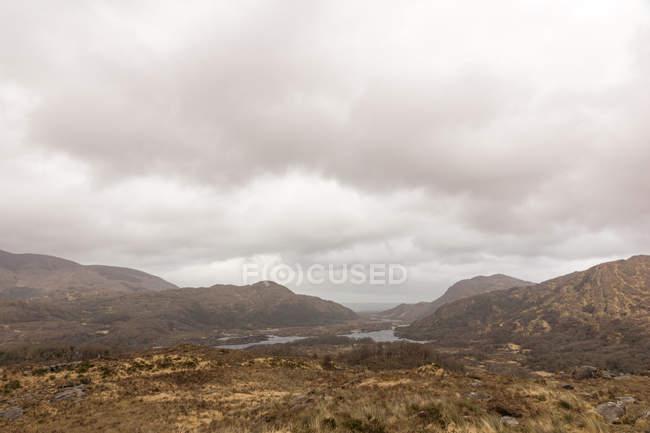Irlande, Kerry, comté de Kerry, paysage montagneux dans le parc national de Killarney — Photo de stock