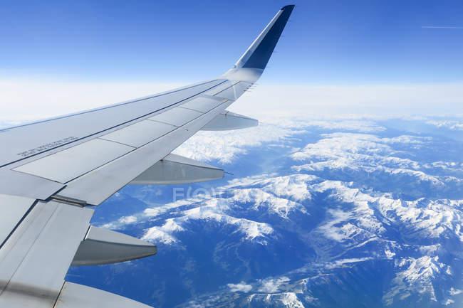 Autriche, Tyrol, Grossvolderberg, au-dessus des Alpes de Munich à Athènes — Photo de stock