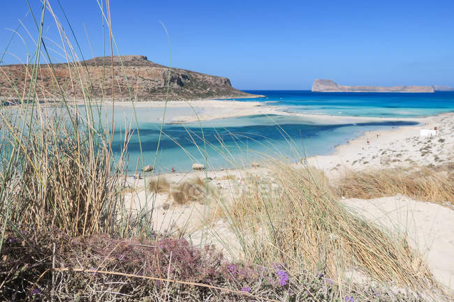 Greece, Crete, Balos Beach on Crete — Stock Photo