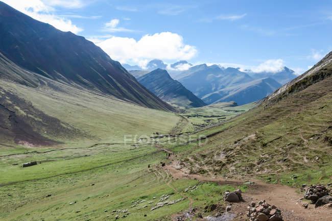 Peru, Qosqo, Cusco, Natur am Rainbow Mountain — Stockfoto