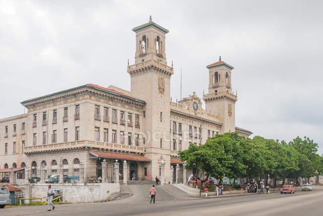 Куба, Гавана, Центральный вокзал, Estacion Центральный Ferrocarriles de Гаваны — стоковое фото