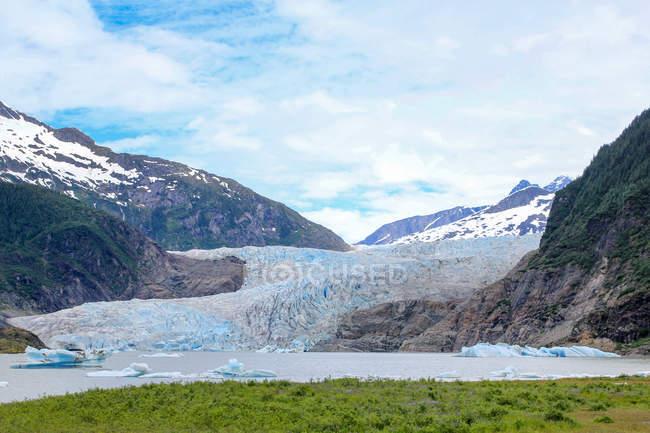 Estados Unidos, Alaska, Juneau, excursión al glaciar de Juneau - foto de stock