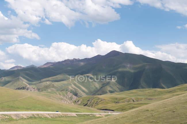 Kirgisistan, Naryn Region, Kochkor Bezirk, Landschaft der Region Naryn — Stockfoto