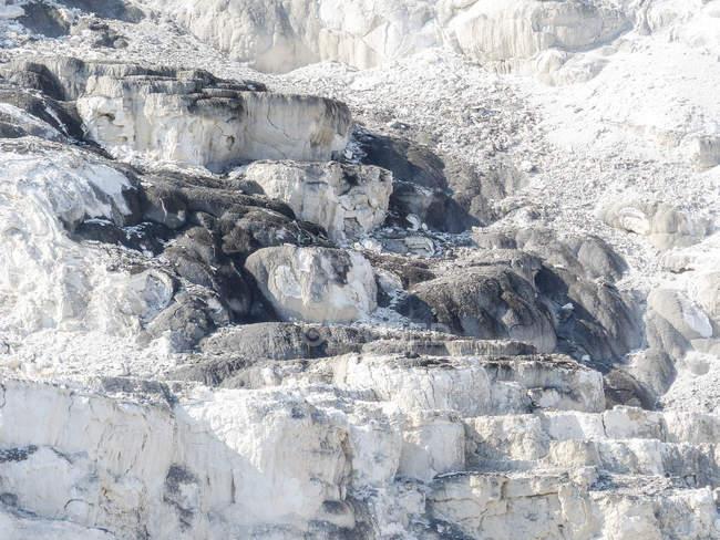 EUA, Wyoming, Parque Nacional de Yellowstone, Atividade geológica — Fotografia de Stock