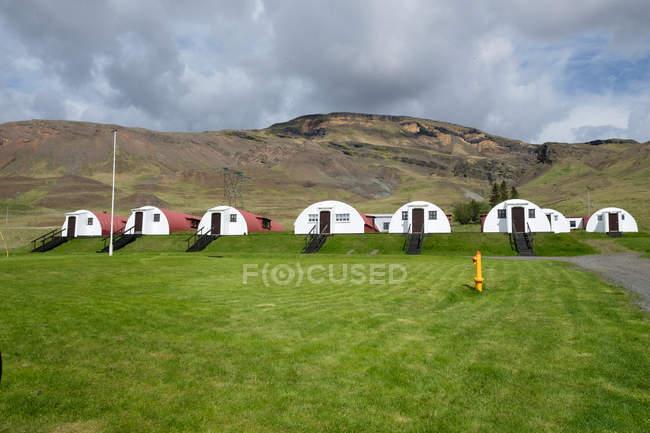 Island, Vesturland, Unterkunft in der Nähe der Walfangstation in Pyrill — Stockfoto
