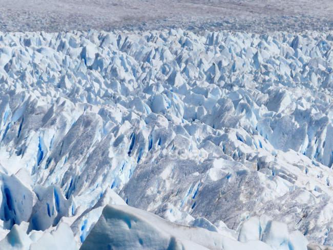 Argentina, Santa Cruz, Lago Argentino, Perito Moreno Glacier, Naufaufnahme — Stock Photo