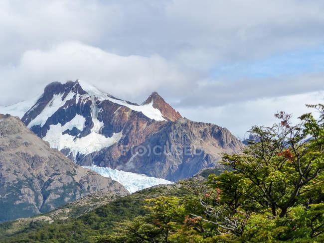 Argentina, Santa Cruz, El Chalten, Mt. FitzRoy — стокове фото