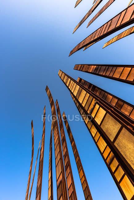 EUA, Washington, Seattle, vista inferior da Space Needle — Fotografia de Stock