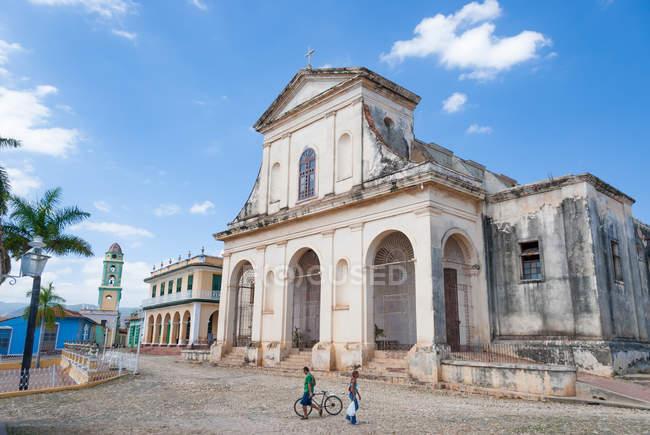 Cuba, Sancti Spiritus, Trinidad, The Church Church of the Holy Trinity — Stock Photo