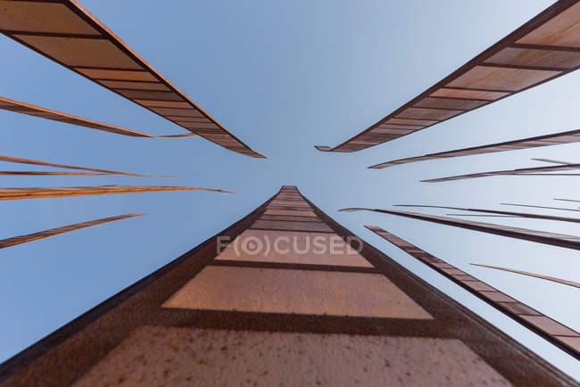 USA, Washington, Seattle, bottom view of Space Needle — Stock Photo