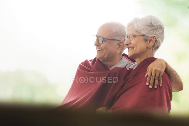 Cobertor de casal — Fotografia de Stock