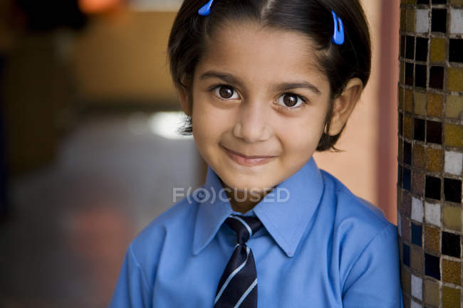 School girl — Stock Photo