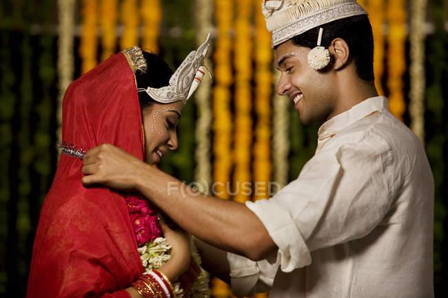 Cerimonia di nozze — Foto stock