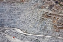 Natural pattern of Gibralter Mine in Cariboo region of British Columbia, Canada — Stock Photo