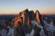Aerial view of Howser Spire in Bugaboo Provincial Park, British Columbia, Canada — Stock Photo