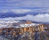 Vue aérienne du plateau du Colorado et Bryce Canyon, Utah, Usa — Photo de stock
