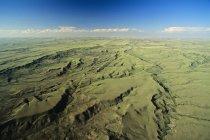 Vue aérienne du Parc National de la Saskatchewan, Canada des Prairies. — Photo de stock