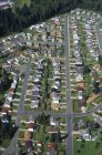 Aerial view of Nanaimo city housing area in British Columbia, Canada. — Stock Photo