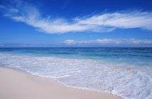 Тропический пляж в Тулуме, Кинтана-Роо, полуостров Юкатан, Мексика — стоковое фото