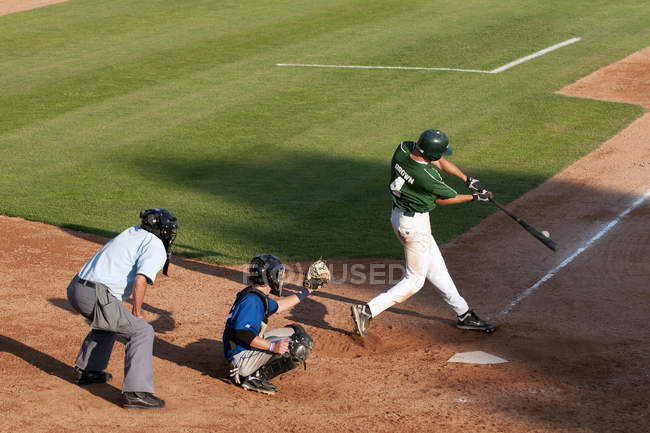 Hitter beim Turnier in Kamloops, Thompson Okanagan, British Columbia, Kanada — Stockfoto