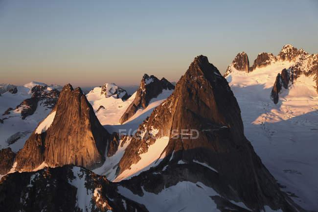 Bugaboo шпиль на гори в провінції Британська Колумбія, Канада — стокове фото