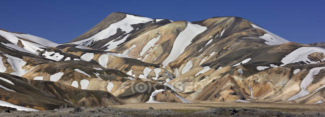 Landmannalaugar highland region of Fjallabak Nature Reserve, Iceland — Stock Photo