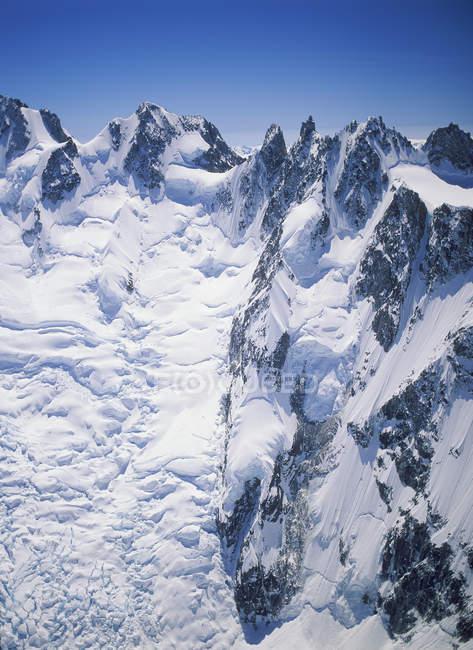 Прибережних діапазоні з гори Waddington, Британська Колумбія, Канада. — стокове фото
