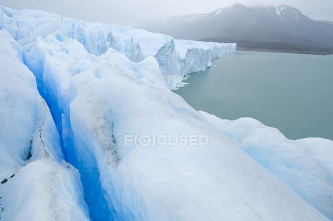 Ghiacciaio Perito Moreno e glaciale lago Argentino nel Parco nazionale di Los Glacieres, Argentina — Foto stock
