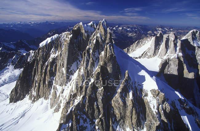 Veduta aerea del Monte Waddington, Columbia Britannica, Canada . — Foto stock