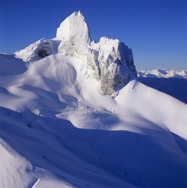 Вид з чорного Туск піку в горах Гарібальді Провінційний парк, Британська Колумбія, Канада. — стокове фото