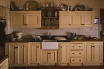 Interior of modern kitchen at home — Stock Photo