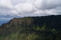 Montanhas do Parque Estadual Na Pali Coast — Fotografia de Stock